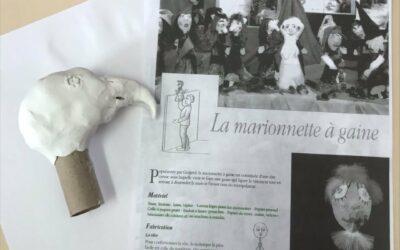 ACTIVITE FABRICATION DE MARIONNETTES